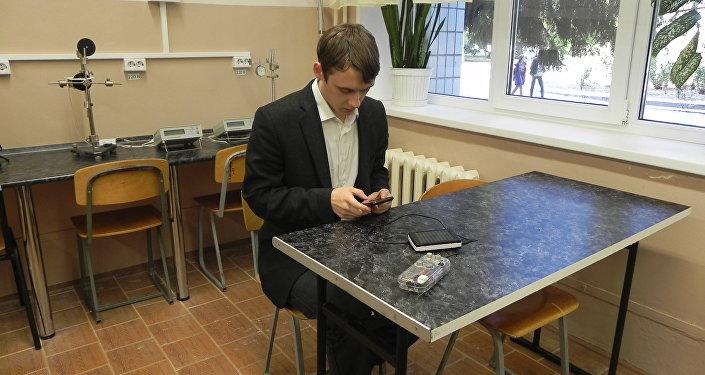 俄大学生建议利用一种基于智能手机的仪器确定危险气体