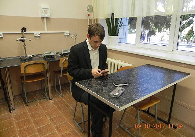 俄大學生建議利用一種基於智能手機的儀器確定危險氣體