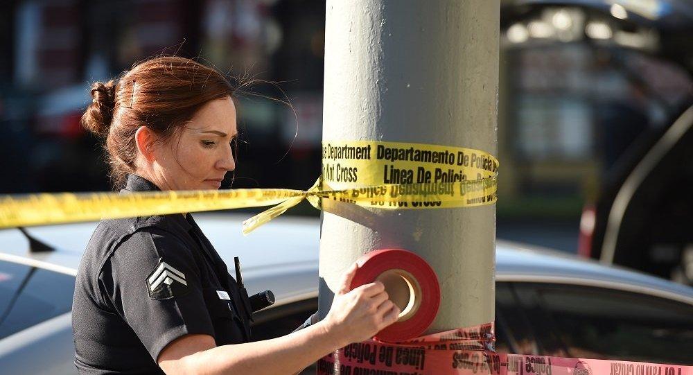 美国警察(图片资料)