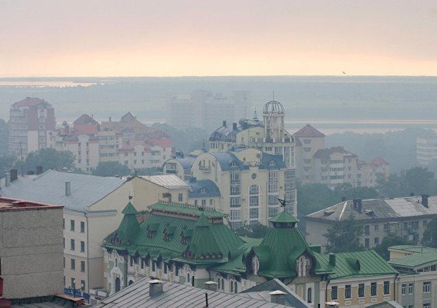 哈巴羅夫斯克煙霧