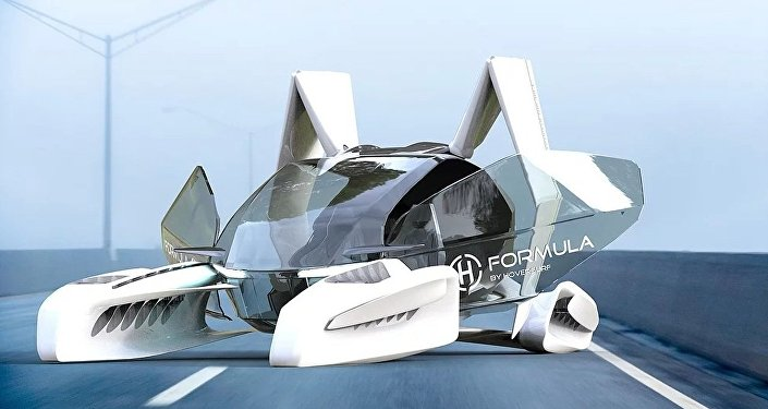 俄无人机公司启动飞行汽车项目