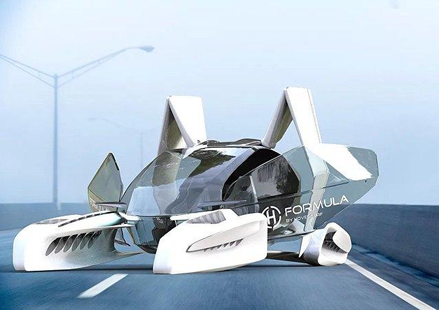 俄無人機公司啓動飛行汽車項目