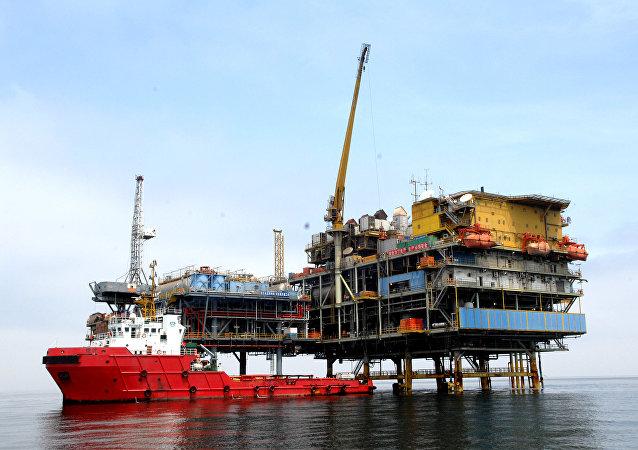 中国渤海湾首个千亿方大气田试验区正式投产