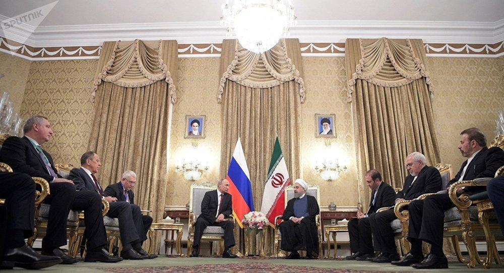 俄罗斯总统会见伊朗总统(资料图片)