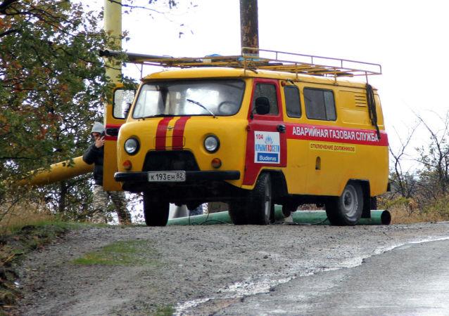 俄克里米亞在遭疑似破壞活動後加強對天然氣運輸系統的保衛
