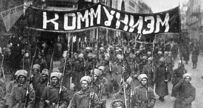 十月革命存档照片