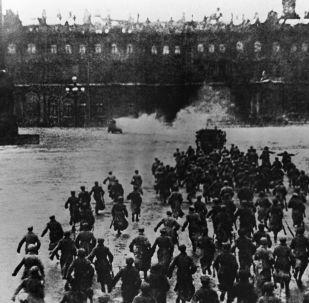 突擊冬宮,1917年10月25日