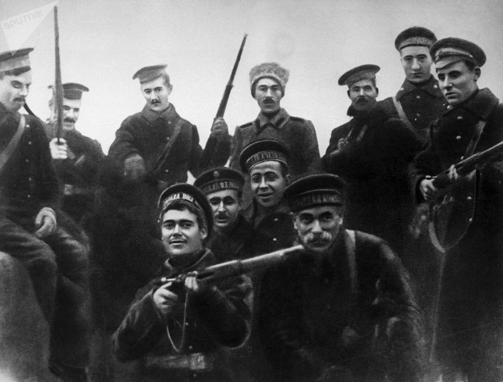 參與冬宮突擊的水兵