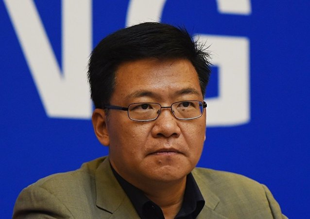 中共中联部副部长、中共代表团团长郭业洲