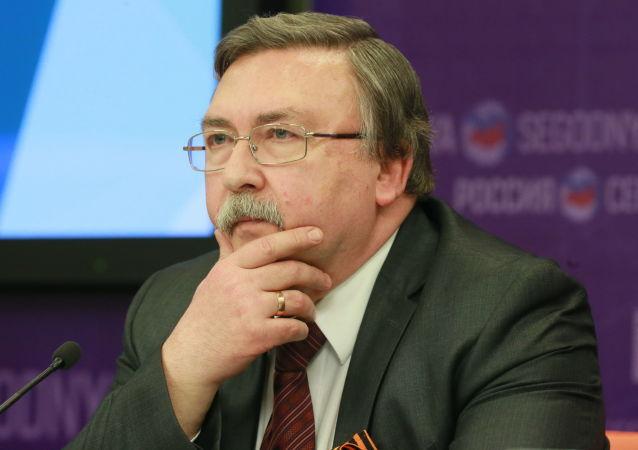 俄羅斯外交部防擴散和軍控問題司司長米哈伊爾∙烏里揚諾夫