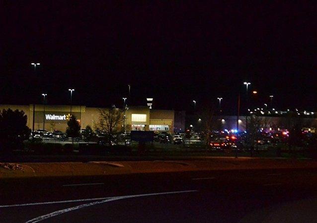 美国警方已经逮捕沃尔玛超市枪击案的嫌疑人