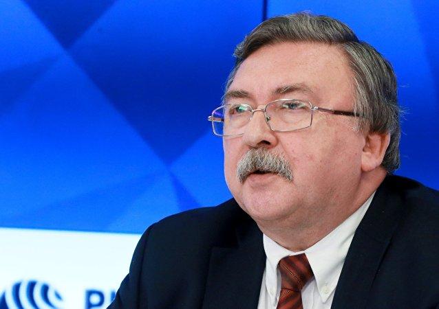 俄罗斯常驻维也纳国际组织代表米哈伊尔•乌里扬诺夫