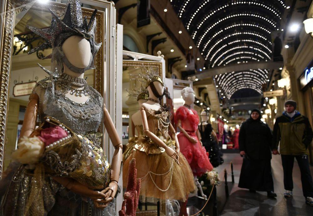 """""""玛蒂尔达·重塑时代""""展览在莫斯科""""古姆""""国立百货商场开幕。"""