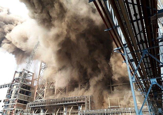 印度热电站爆炸死亡人数升至32人