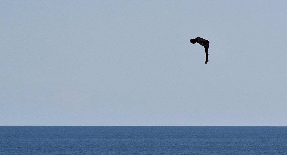 普京支持在克里米亞建立跳水基地