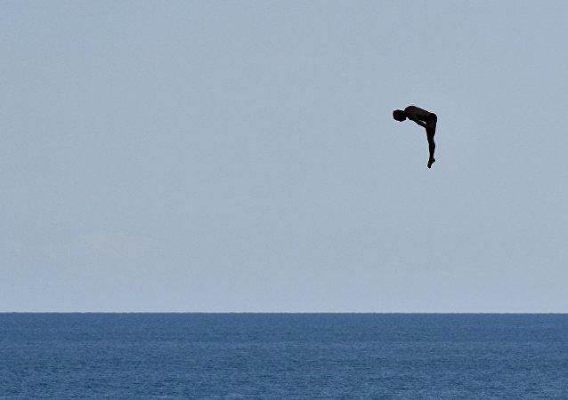 普京支持在克里米亚建立跳水基地