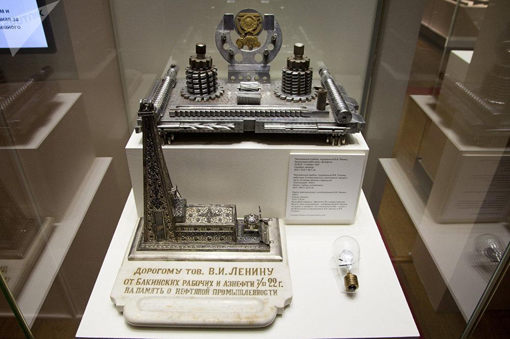 列宁和斯大林收到的文具用品