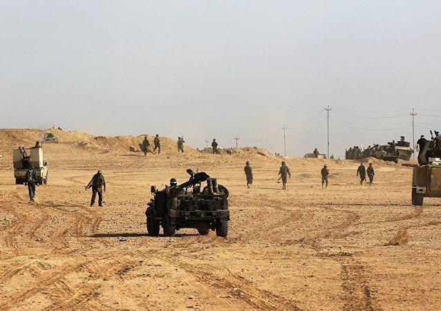 伊拉克軍隊已經完全恢復對加伊姆市的控制