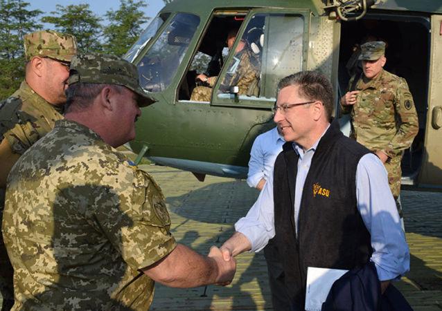美国国务院乌克兰事务特别代表科特·沃克尔