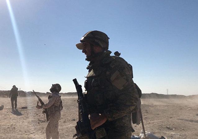 敘軍發現載有化學物質的汽車炸彈