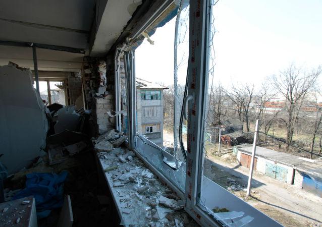 乌克兰军方:一昼夜内顿巴斯开火28次