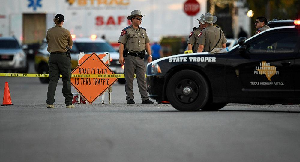 美国德州警察