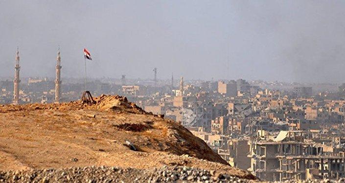 """俄国防部评论法外长言论:粉碎""""伊斯兰国""""首先是叙利亚自己的功劳"""