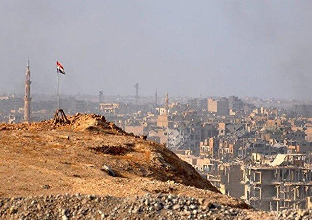 叙利亚停火协调中心:代尔祖尔市排雷结束
