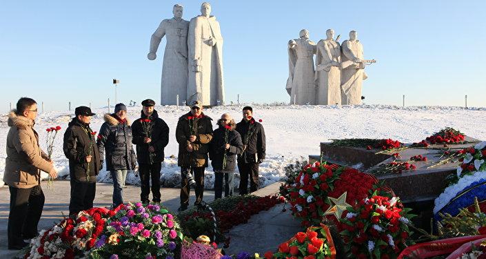背后是莫斯科:苏军潘菲洛夫28勇士纪念碑