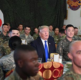 韩国敦促美国尽快移交军事指挥权