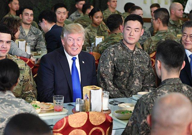 特朗普利用日韓挑起亞洲軍備競賽