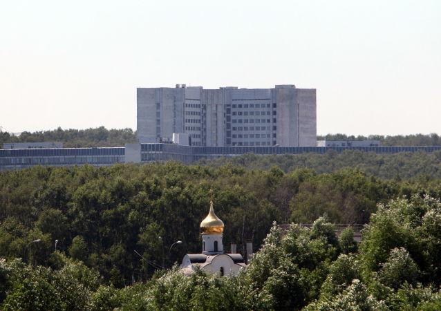 俄罗斯联邦对外情报局总部(图片资料)