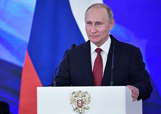 普京:俄罗斯希望成为亚太地区邻国的主要食品供应者