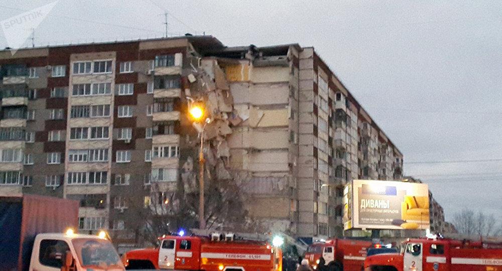救灾指挥中心:俄罗斯依热夫斯克市住宅倒塌事故已致6人遇难