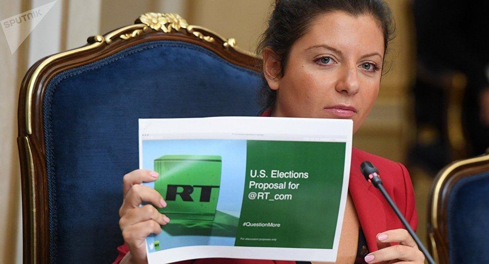 俄罗斯RT电视台和俄罗斯卫星通讯社主编玛格丽特·西蒙尼扬