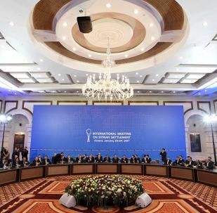 哈薩克斯坦外交部:第八輪敘問題阿斯塔納和談將於12月21日至22日舉行