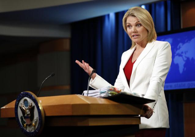 美国国务院官方发言人希瑟·诺尔特