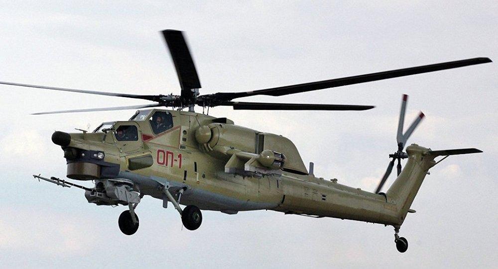 俄罗斯米-28UB直升机