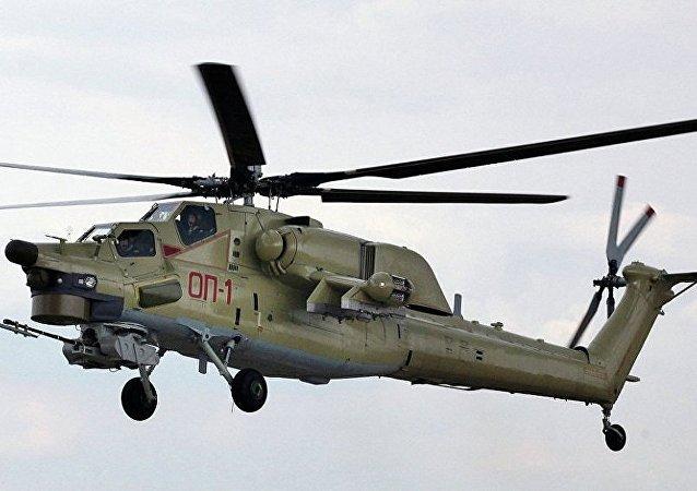 米-28UB直升机