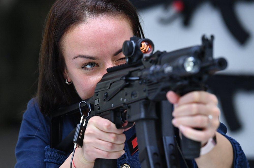 著名槍械公司-卡拉什尼科夫公司新產品推介會