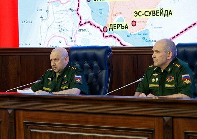 俄驻叙利亚部队指挥官谢尔盖·苏罗维金