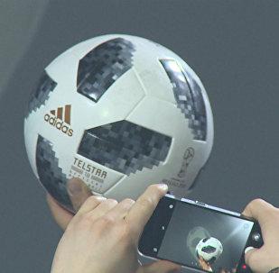 2018世界杯官方用球在莫斯科發布