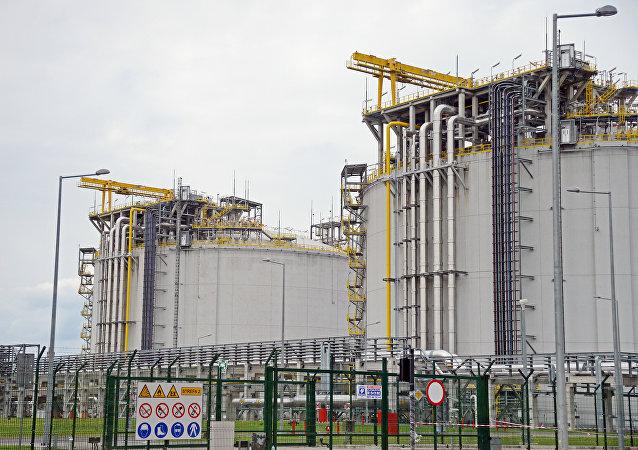 液化天然氣再氣化終端