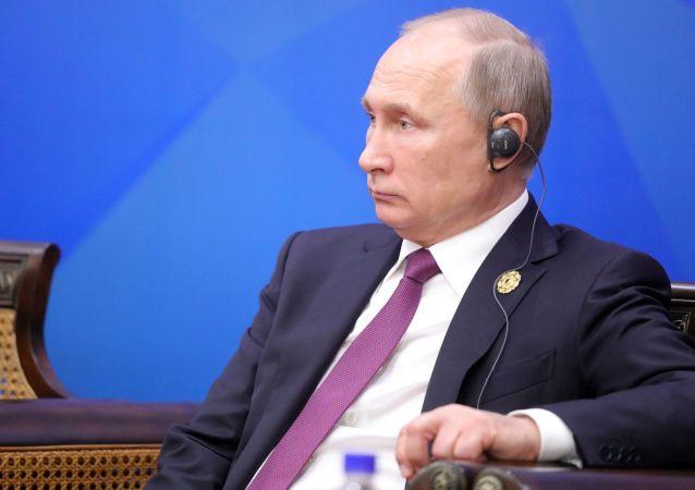 普京今年11月再被評為俄最有影響力的政治家