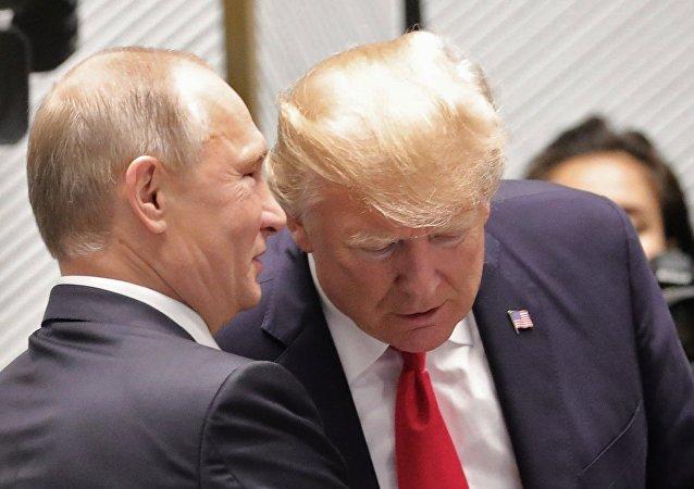 特朗普:俄美友好關係將讓世界受益