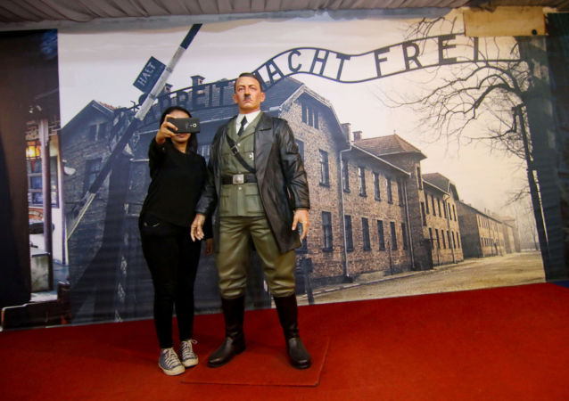 在印尼一间博物馆因内置希特勒蜡像而陷入丑闻