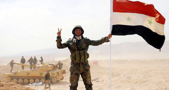"""俄总统普京表示,俄防长绍伊古报告称,在叙利亚幼发拉底河东岸和西岸地区已完全击溃""""伊斯兰国"""""""