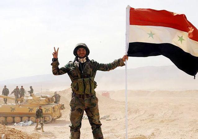 俄军总参谋部:叙政府军一年内消灭超2.3万武装分子