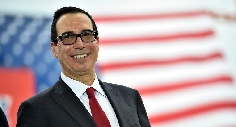 美国财长证实中美互加贸易税已暂停