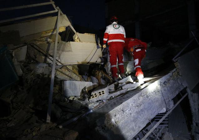 歐盟外長:該聯盟願意協助清除兩伊邊境地震後果
